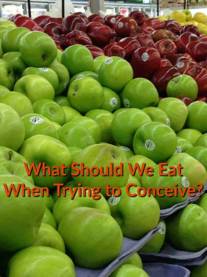 What Should We Eat When Trying to Conceive?