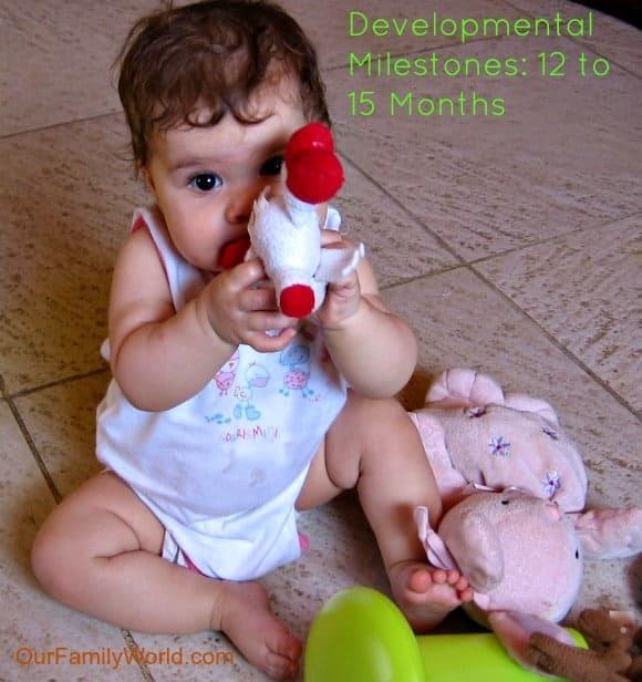Developmental Milestones: 12 to 15 months