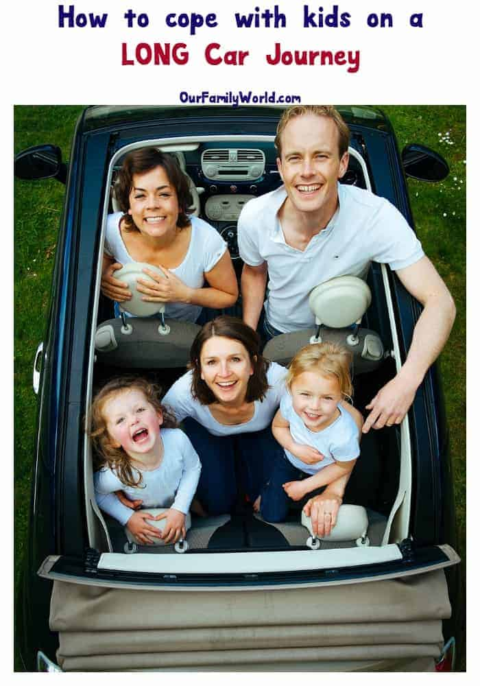 How to cope with kids on a long car journey: read our tips and have a wonderful vacation with the family