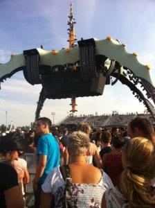 U2 360 Tour structure