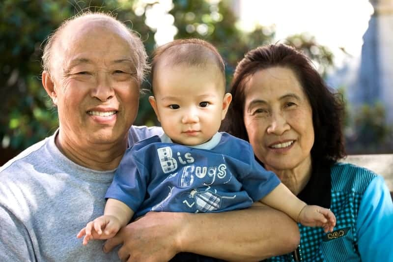 The challenges of becoming a new grandparent