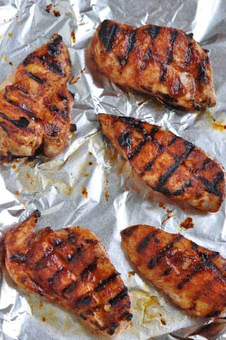 Grill Two Meals in One: BBQ Cola Chicken