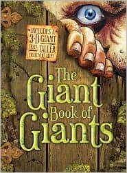 The Giant Book of Giants by Saviour Pirotta: Book Cover