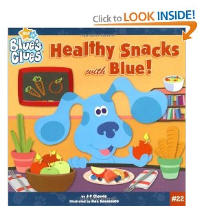 Healthy Snack With Blue