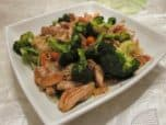 Asian Chicken and broccoli stir fry