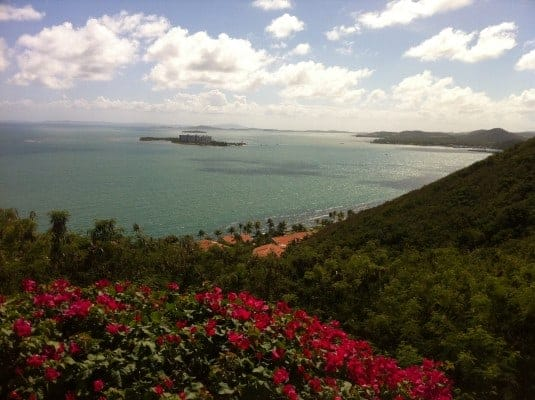 Wonderful island of Puerto Rico