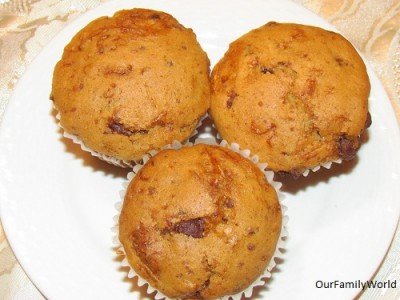 Easy Banana muffins recipe for kids