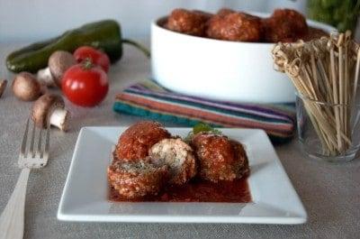 Mushroom-Meatballs