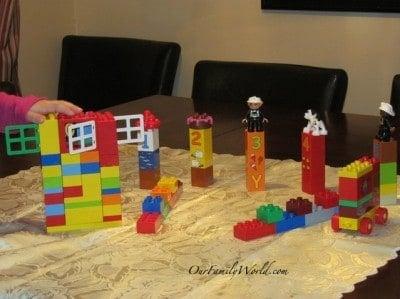 Roll n' Bowl with Lego Duplo