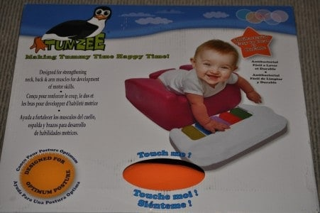 Tumzee Product Review - Making Tummy Time Happy Time!