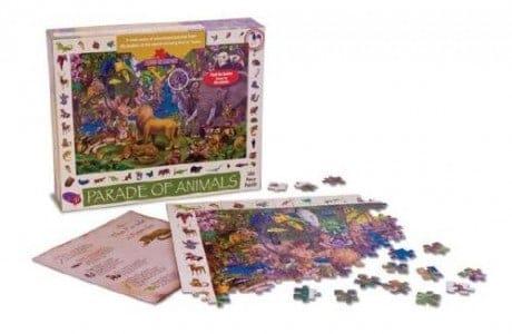 Parade of Animals Puzzle