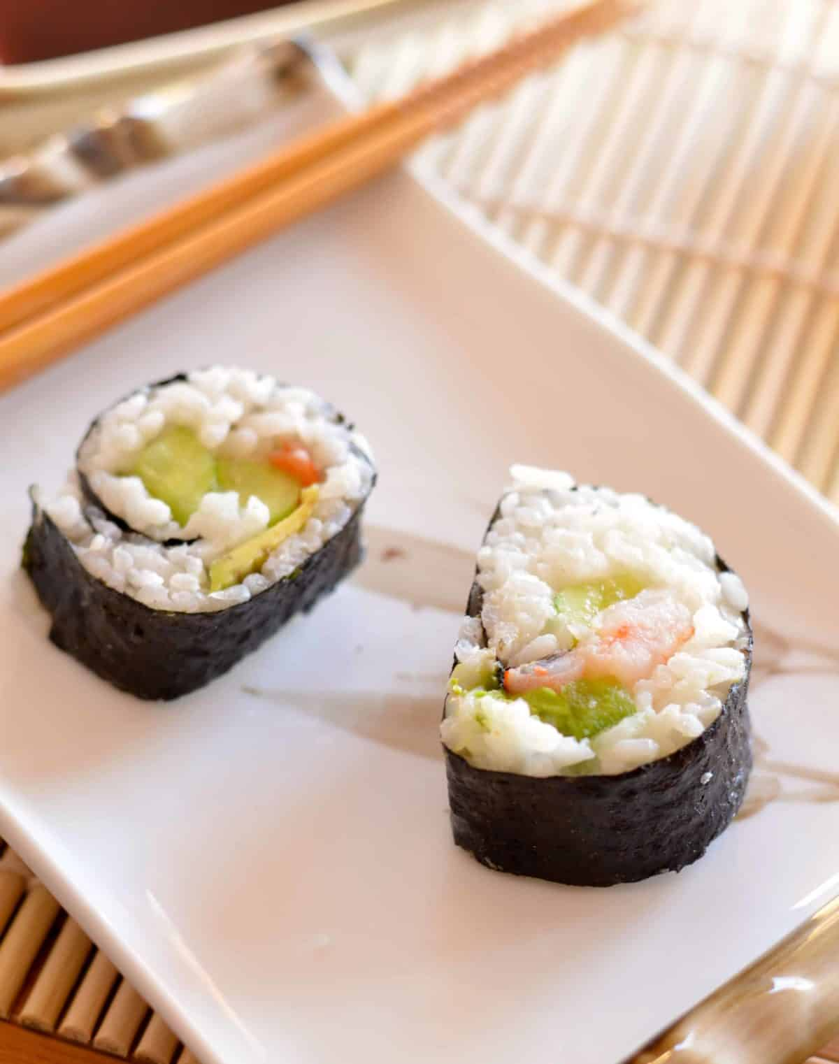 How to Make a Sushi Roll at Home