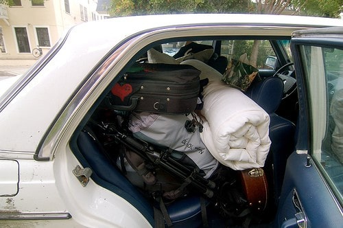 Loading a car: best ways to save money on a road trip