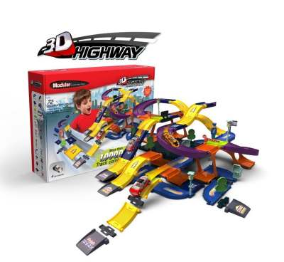 Modular 3D Construction Highway Kit