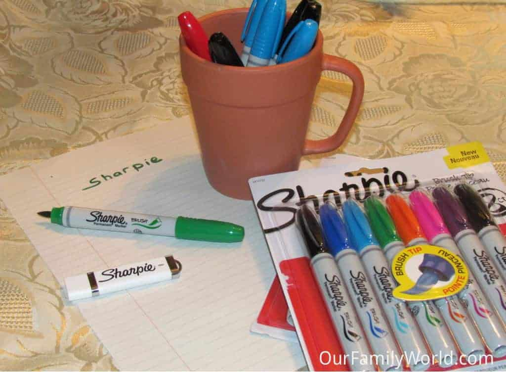 sharpie-brush-tip-permanent-markers-review