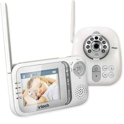 review vtech safe sound full color video audio baby monitor. Black Bedroom Furniture Sets. Home Design Ideas