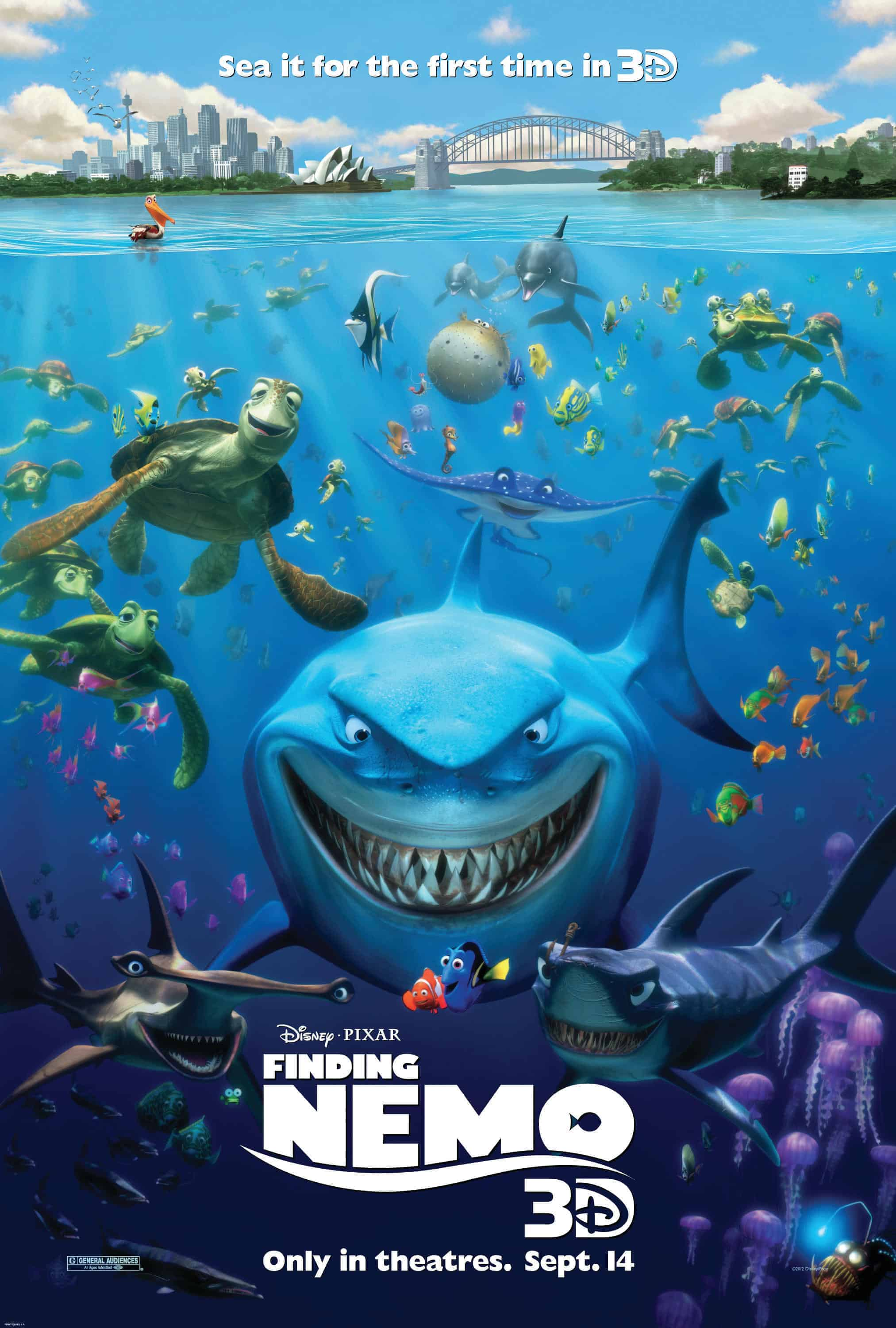 Opening to Finding Nemo 2003 AMC Theater