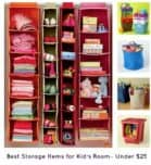 Storage Items for Kids Rooms
