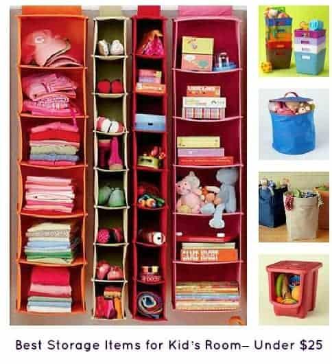 10 Best Kysnli S Room Stuff Images On Pinterest: Best Storage Items For Kids' Room– Under $25