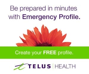 Telus Emergency profile