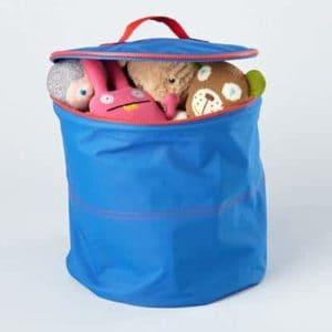Blue Grab Bag Storage for Kids