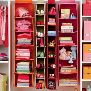 Hanging Closet Storage for Kids