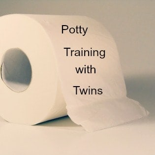Potty training with twins