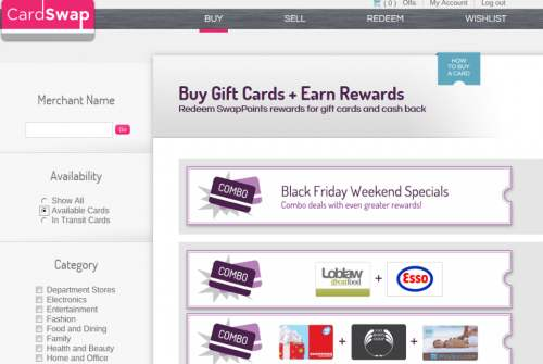Win $50 gift card of your choice from CardSwap