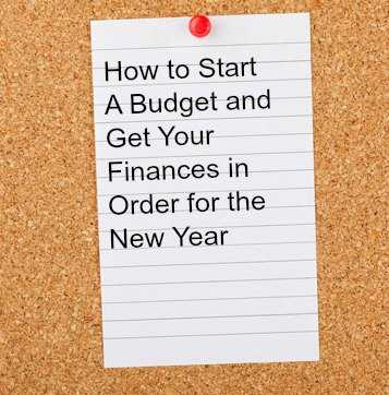 How to Start a Budget for the New Year