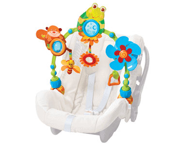 Tiny Love My Nature Pals Stroll: Perfect toy for baby's car seat