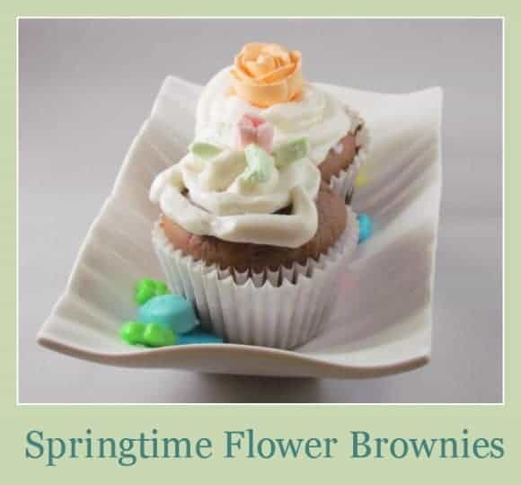 brownie-recipe-springtime-flower-brownies