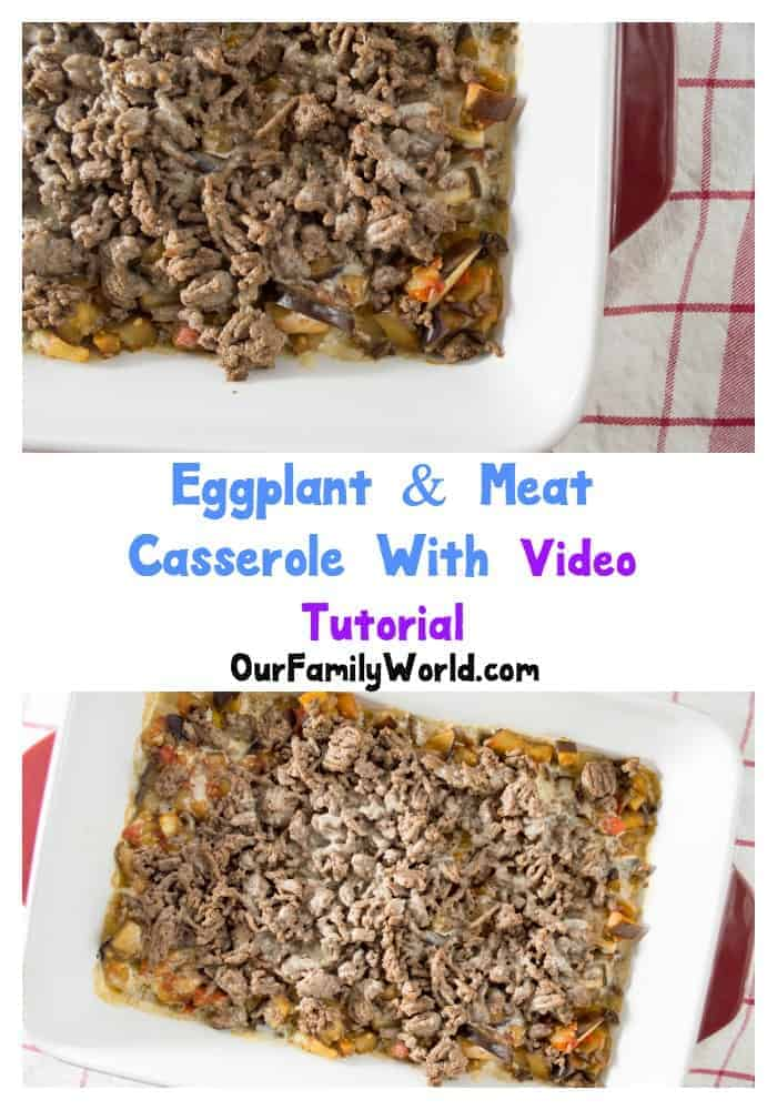 Do you want to serve a healthy recipe that your family will enjoy? Roasted Eggplant & meat casserole may be your ticket if you want something new to serve on the dinner table.
