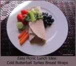 Easy Picnic Lunch Wraps