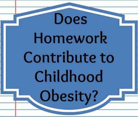 Homework and Childhood Obesity
