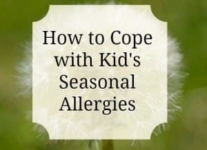 Kid's Seaonal Allergies