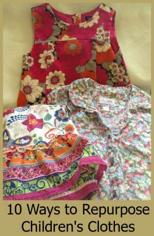 Ways to Repurpose Childrens Clothes