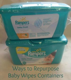 Ways to Repurpose Baby Wipes ContainersRepurposing Baby Wipes