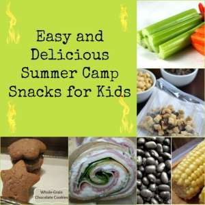 Summer Camp Snacks