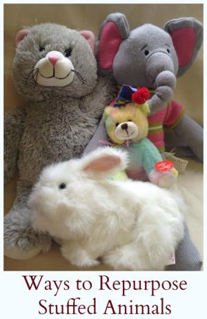 Ways to repurpose stuffed animals