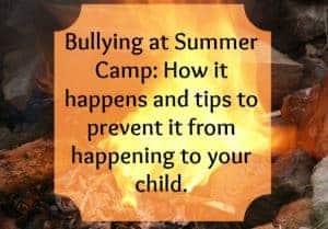 Bullying at Summer Camp
