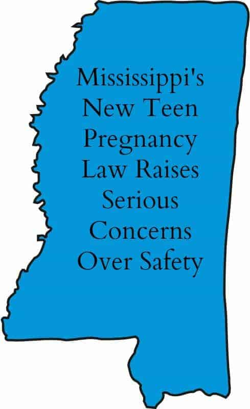Mississippi Teenage Pregnancy Law