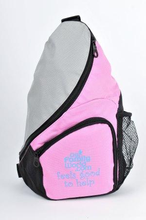 Pink Kids Sling Bag