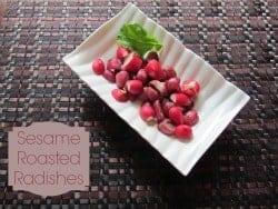 Easy Healthy Recipe: Radishes