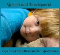 Growth and Development: Reasonable Expectations