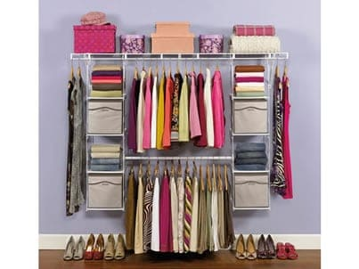 Organize Your Closet with Rubbermaid Max Add-On
