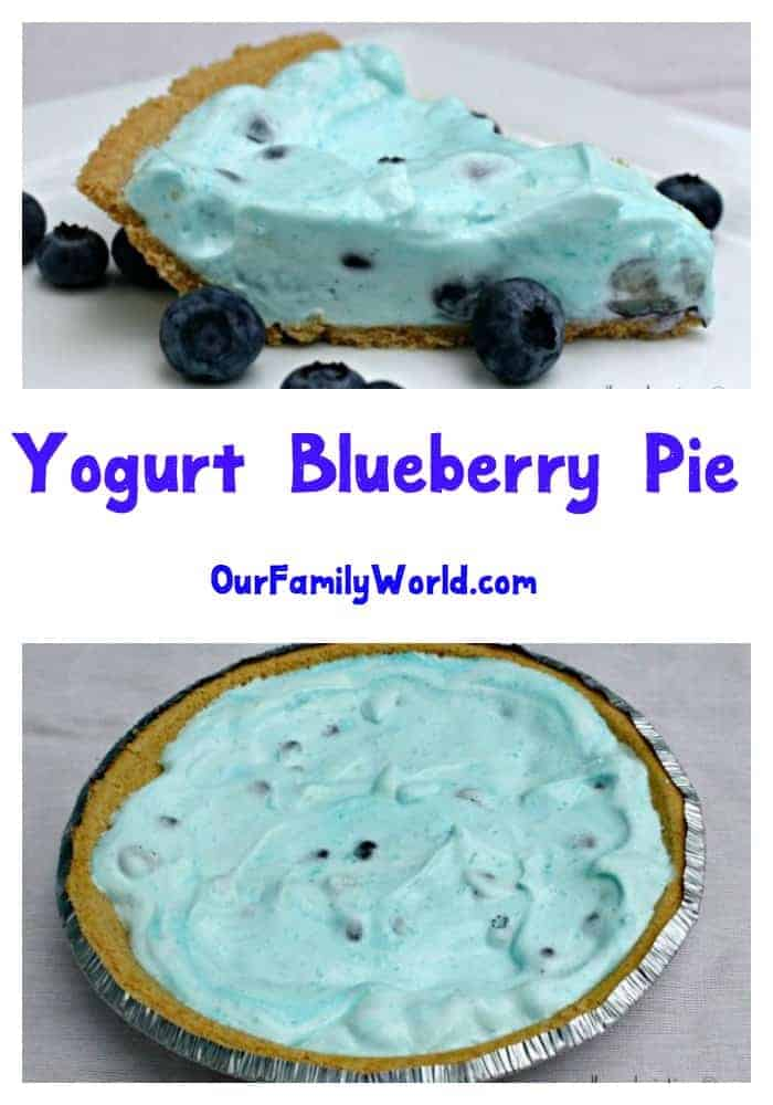 This delicious blueberry pie low calorie dessert recipe is the perfect dessert for summer get-togethers and picnics! It's easy to make and amazingly yummy!