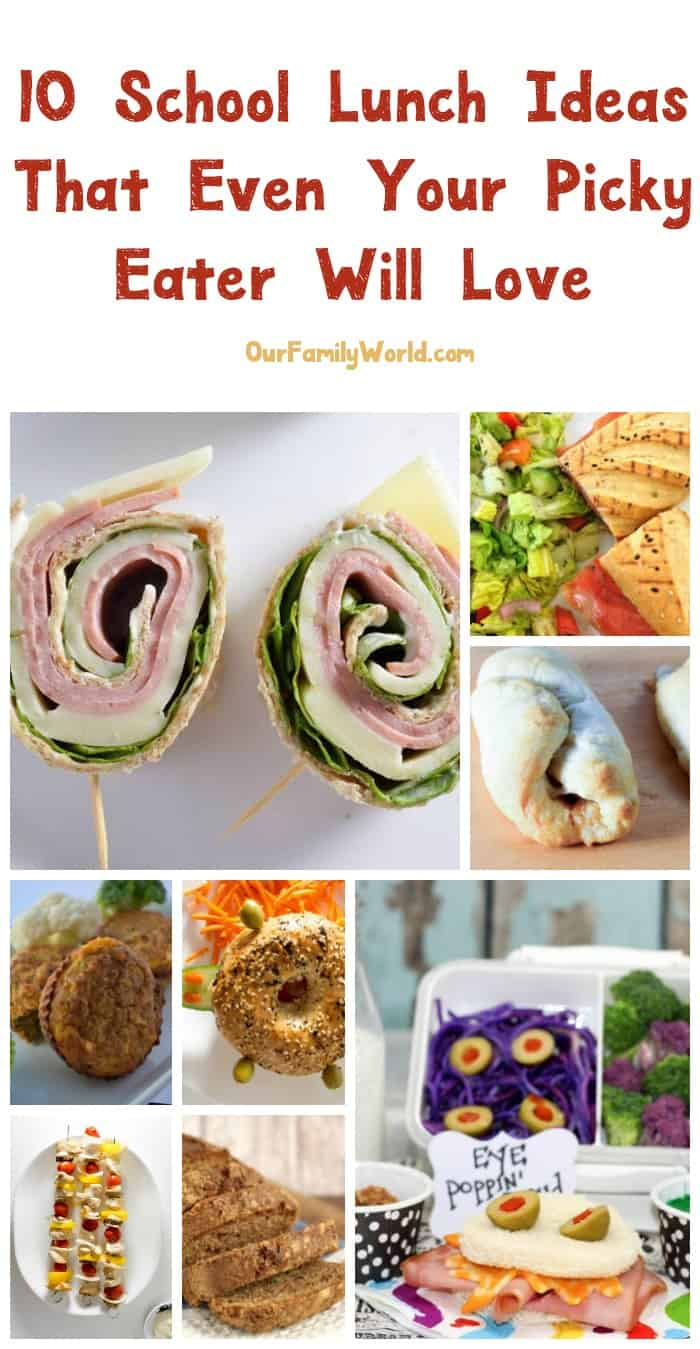 Finding fun yet tasty school lunch recipes for picky for kids can be challenging. Read on to see a few of my favorites, including a recipe for a delicious pinwheel sandwich they'll love!