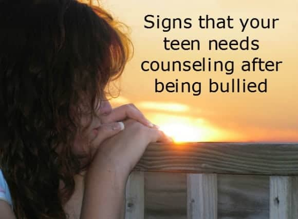 Counseling after being bullied