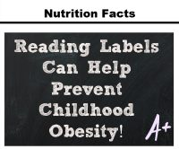 Reading Labels Childhood Obesity