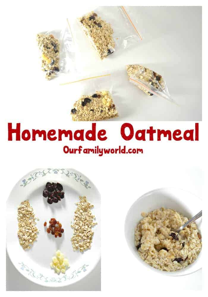 Save time and money by making this easy instant oatmeal recipe. It is a delicious breakfast meal